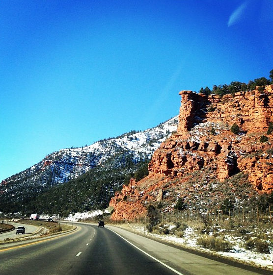 The Road From Denver To Moab
